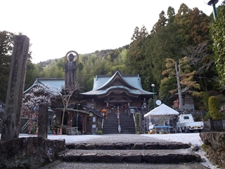 35 清滝寺・山門