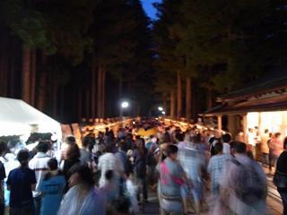ろうそくまつり2012(入り口)