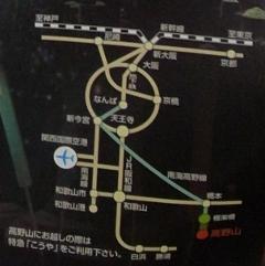 ろうそくまつり2012地図