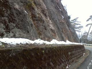 高野山の雪