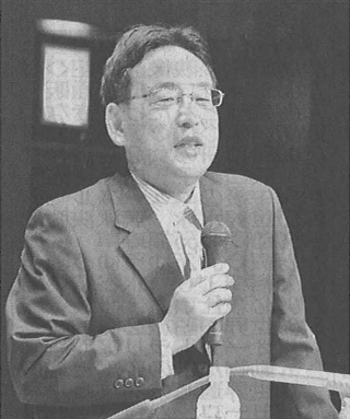 人口問題を語る日本総合研究所主席研究員の藻谷浩介さん
