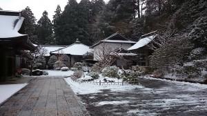 2014初雪・持明院