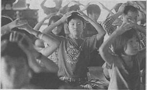 瞑想法を体験