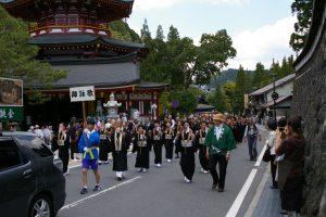2017高野山青葉祭花御堂パレード