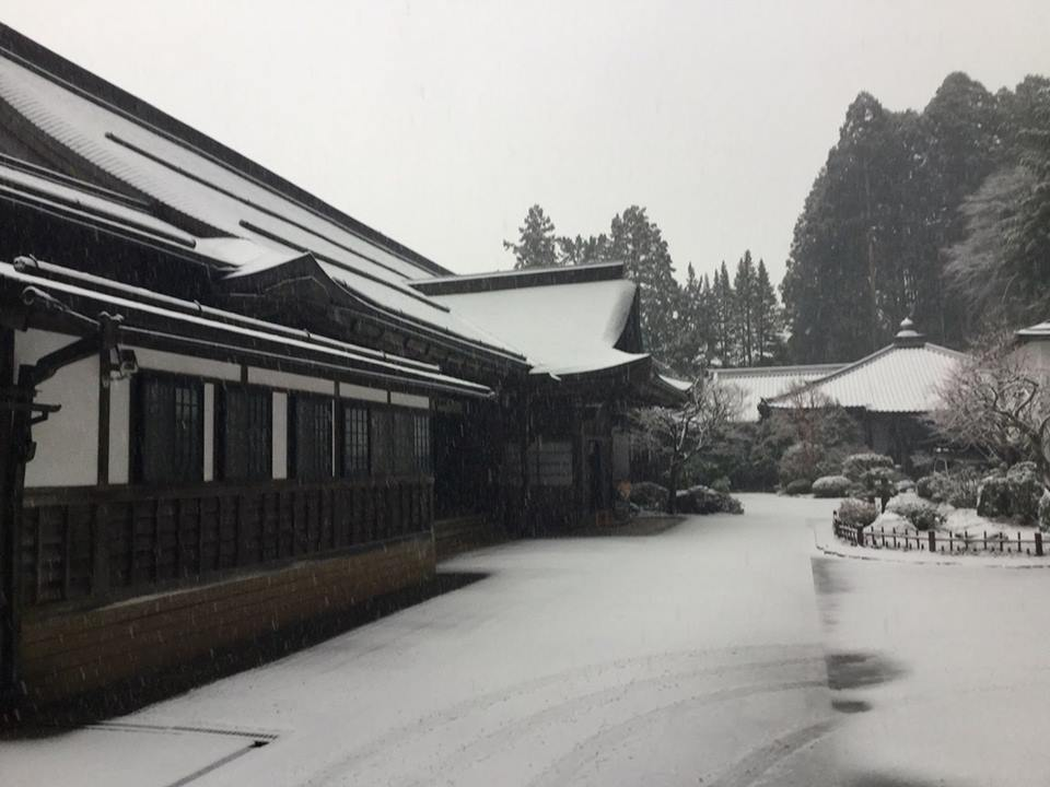 高野山雪景色2018