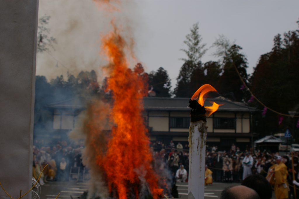 高野山2020火祭り